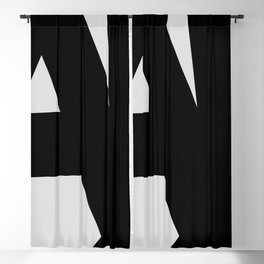 Abstract Form 01 Blackout Curtain