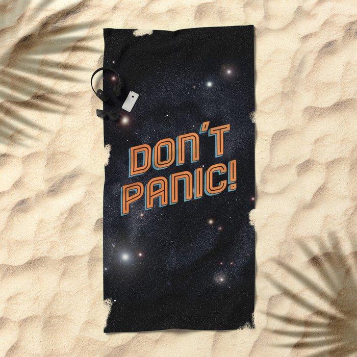 Don't Panic Beach Towel