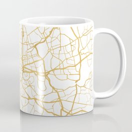 LONDON ENGLAND CITY STREET MAP ART Coffee Mug