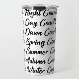 ACOTAR Courts Travel Mug