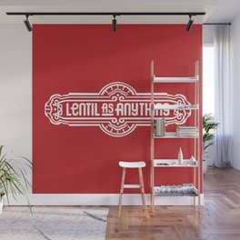 Lentil as Anything - Red Wall Mural