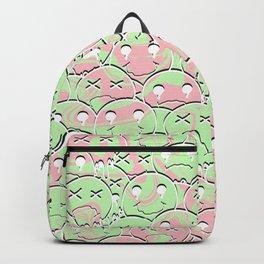 Multi Random Face Backpack