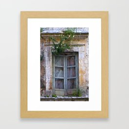 "Baroque Town Noto ""Vacancy"" zine Framed Art Print"