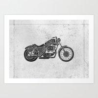 Rebel Rider Art Print