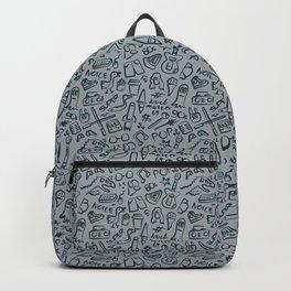 Pop Culture Pattern Backpack