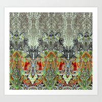 paisley Art Prints featuring Paisley by BellagioVista