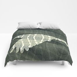 The rook #VII Comforters