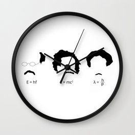 Quantum Physicists Wall Clock