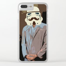 Proper Stormtrooper Clear iPhone Case