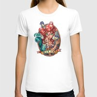 hair T-shirts featuring SIREN by Tim Shumate