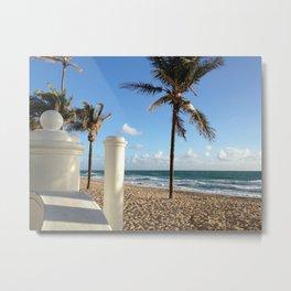 On the Water Ft Lauderdale Beach Metal Print