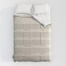 Everybody, let's rock Comforters