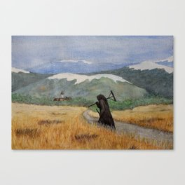 Pesta - a painting of the Plague Canvas Print