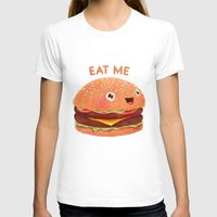 burger T-shirts featuring Burger by Lime