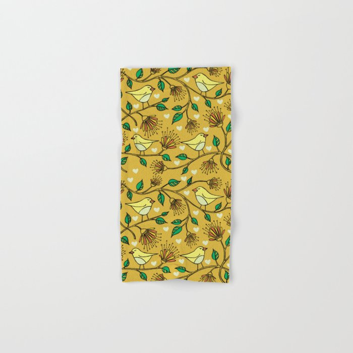 Birds pattern II Hand & Bath Towel