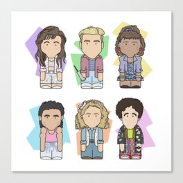 Saved By The Bell Canvas Print