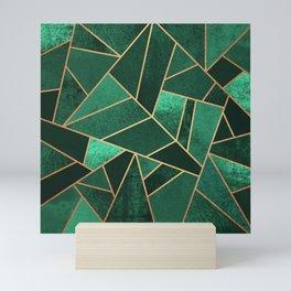 Emerald and Copper Mini Art Print