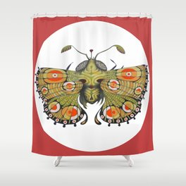Butterfly (original sold) Shower Curtain