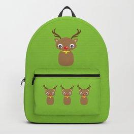 Red Nosed Reindeer Backpack