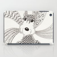 schnauzer iPad Cases featuring Schnauzer by Noreen Loke
