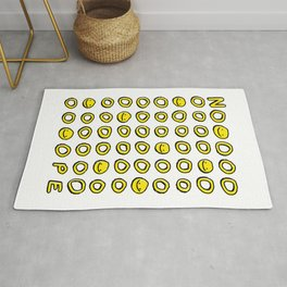 Say It With A Smile Rug
