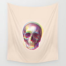 acid calavera Wall Tapestry