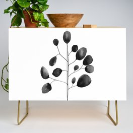Watercolor Leaves Credenza