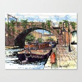 Castlefield Manchester Canvas Print
