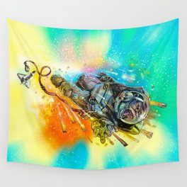 Houston we have a problem Wall Tapestry