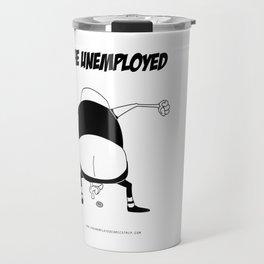 The Unemployed - Medioman Travel Mug