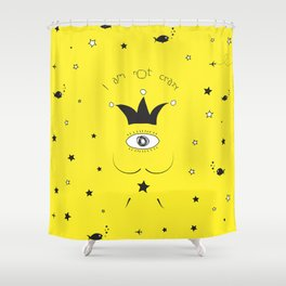 DALI IS NOT CRAZY Shower Curtain