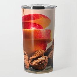 Apple and nuts Travel Mug