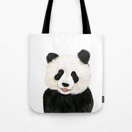 naughty little panda Tote Bag