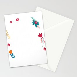 If Moms Were Flowers I Pick You Stationery Cards