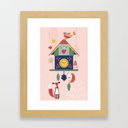 Cuckoo Wonderland Framed Art Print
