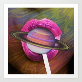 Planet Lolli Art Print