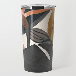 Abstract Tropical Art III Travel Mug