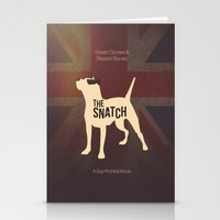 snatch Stationery Cards featuring The Snatch - Stealin' Stones & Breakin' Bones by Thecansone