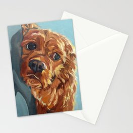 Newton the Lounging Cocker Spaniel Stationery Cards