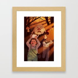 Burglin' Turts Framed Art Print