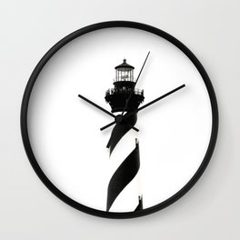 Cape Hatteras Lighthouse, Outer Banks, North Carolina Wall Clock