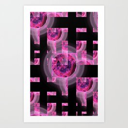 FRACTAL: Window Art Print