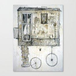 Vehicle Breakdown Canvas Print