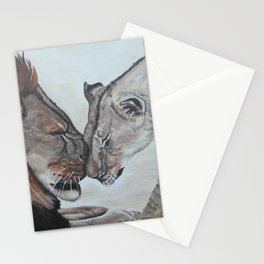 Cecil the Lion Stationery Cards