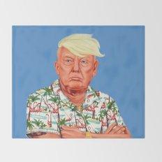 Hipstory -  Donald Trump Throw Blanket