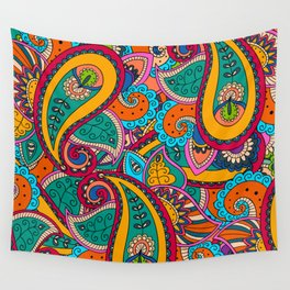 African Style No22 Wall Tapestry