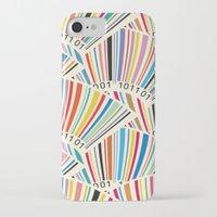 geek iPhone & iPod Cases featuring Geek by Helene Michau