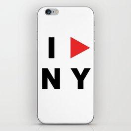 I PLAY NY iPhone Skin