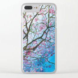 Pink Poui Clear iPhone Case