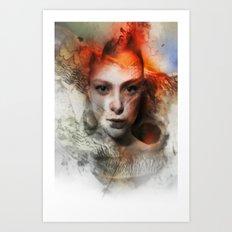 Mothcharmer Art Print